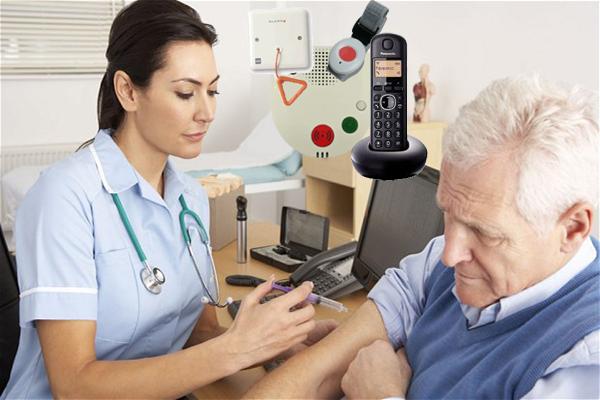 Sistema de llamadas para hospitales